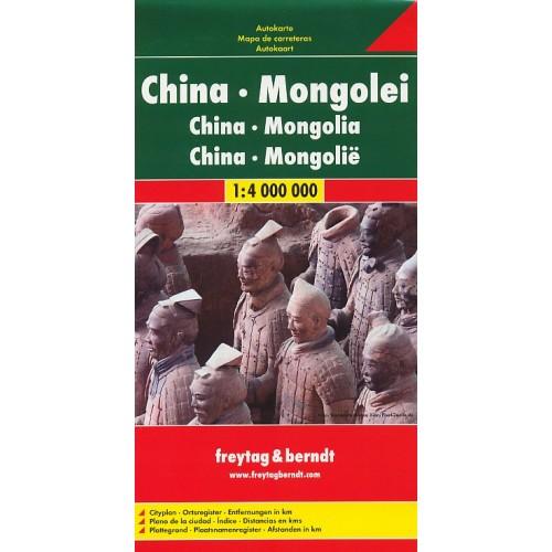 ČÍNA, MONGOLSKO, TAIWAN