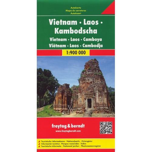 VIETNAM, LAOS, KAMBODŽA