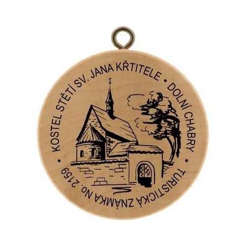 TZ No. 2159 KOSTEL STĚTÍ SV. JANA KŘTITELE - DOLNÍ CHABRY