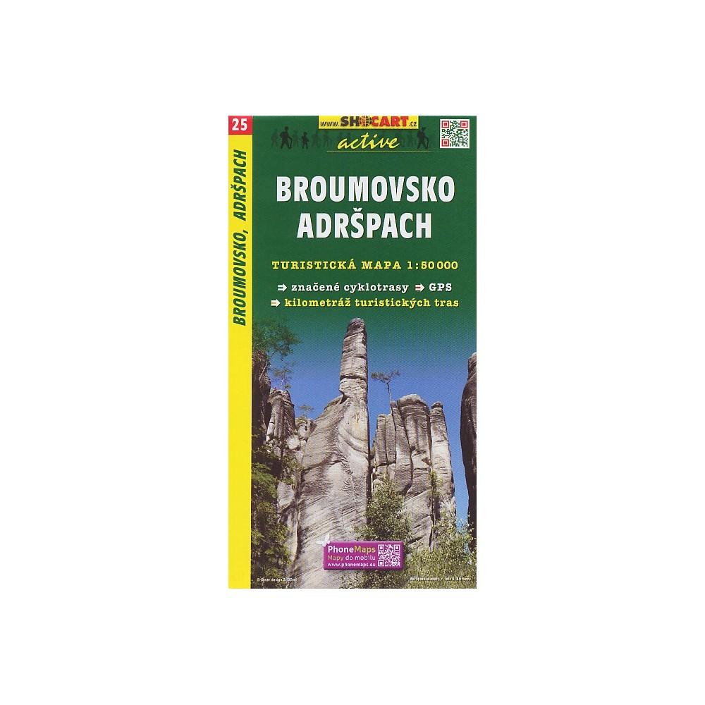 25 Broumovsko Adrspach Turistashop Turisticke Knihkupectvi