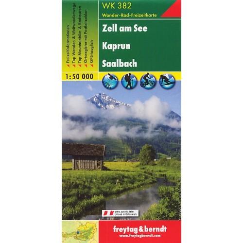 WK 382 ZELL AM SEE, KAPRUN, SAALBACH
