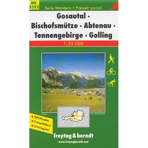 WK 5392 GOSAUTAL, BISCHOFSMÜTZE, ABTENAU