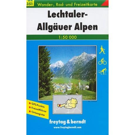 WK 351 LECHTALER-ALLGÄUER ALPEN