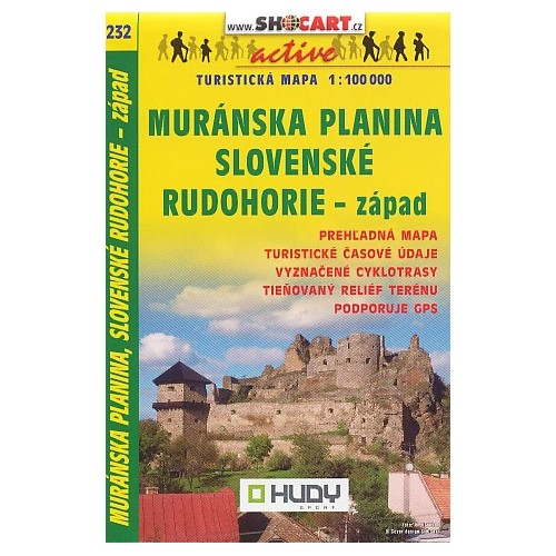 232 MURÁNSKA PLANINA, SLOVENSKÉ RUDOHORIE-ZÁPAD