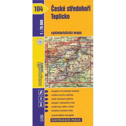 104 ČESKÉ STŘEDOHOŘÍ, TEPLICKO