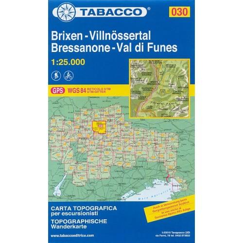 030 BRESSANONE-VAL DI FUNES/BRIXEN-VILLNÖSS