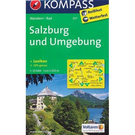 017 Salzburg Und Umgebung Turistashop Turisticke Knihkupectvi