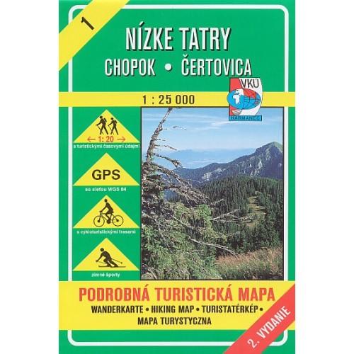 1 NÍZKE TATRY, CHOPOK-ČERTOVICA