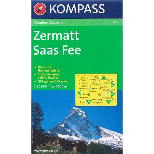 117 ZERMATT-SAAS FEE