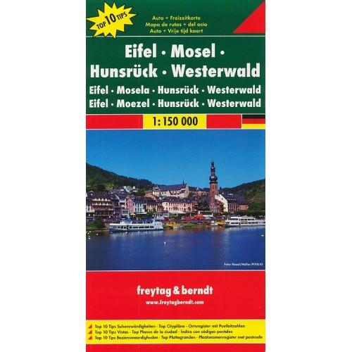 EIFEL, MOSELA, HUNSRÜCK, WESTERWALD
