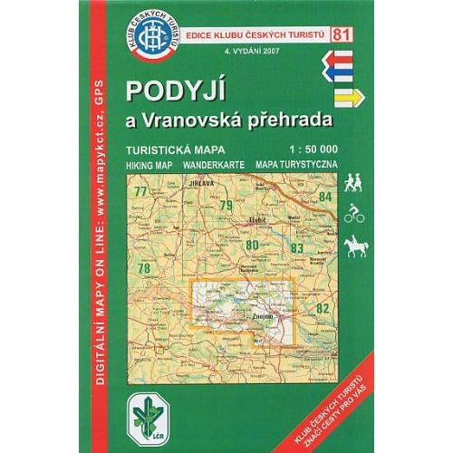 81 PODYJÍ- VRANOVSKÁ PŘEHRADA