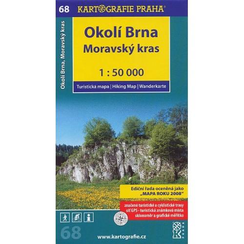 68 OKOLÍ BRNA, MORAVSKÝ KRAS