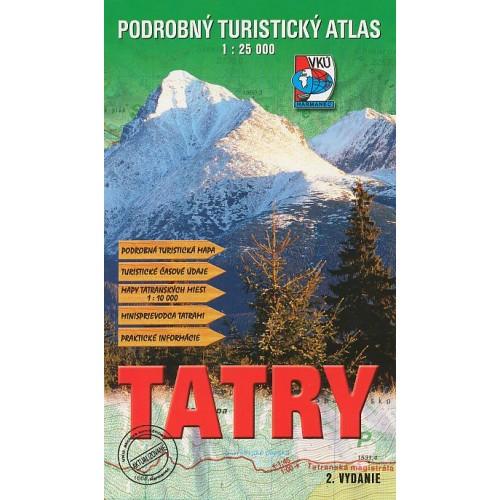 TATRY-PODROBNÝ TURISTICKÝ ATLAS