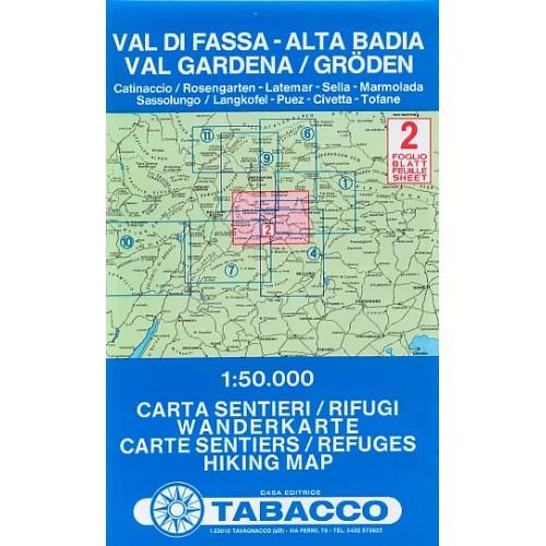 2 VAL DI FASSA-ALTA BADIA, VAL GARDENA/GRÖDEN