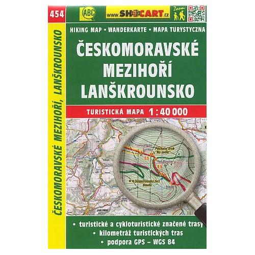 454 ČESKOMORAVSKÉ MEZIHOŘÍ, LANŠKROUNSKO