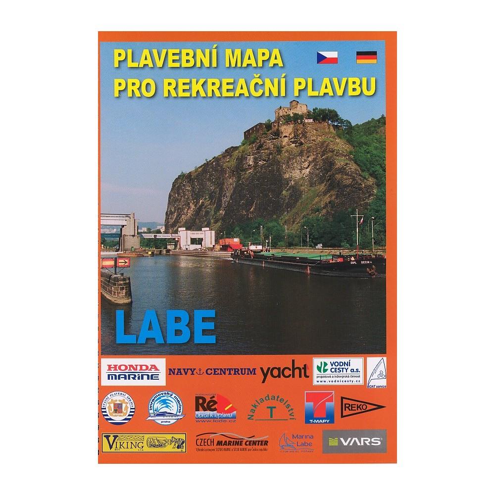 Labe Plavebni Mapa Turistashop Turisticke Knihkupectvi