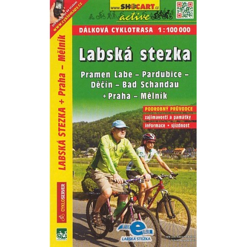 LABSKÁ STEZKA PRAMEN LABE-BAD SCHANDAU+PRAHA