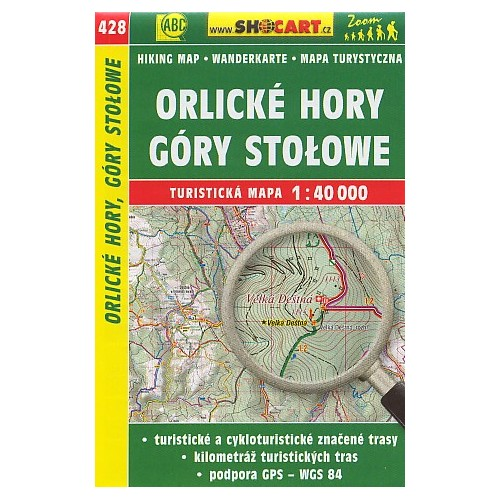 428 ORLICKÉ HORY, GÓRY STOLOWE