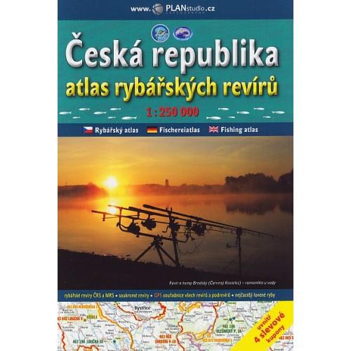 ČESKÁ REPUBLIKA, ATLAS RYBÁŘSKÝCH REVÍRŮ