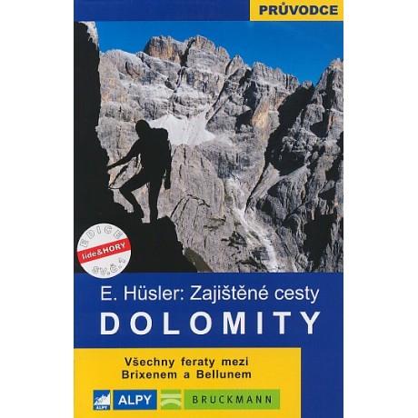 DOLOMITY-ZAJIŠTĚNÉ CESTY