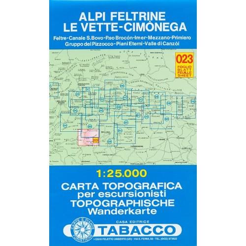 023 ALPI FELTRINE-LE VETTE-CIMONEGA
