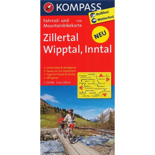 3308 ZILLERTAL, WIPPTAL, INNTAL