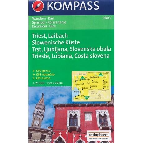 2803 TRIEST, LAIBACH, SLOWENISCHE KÜSTE