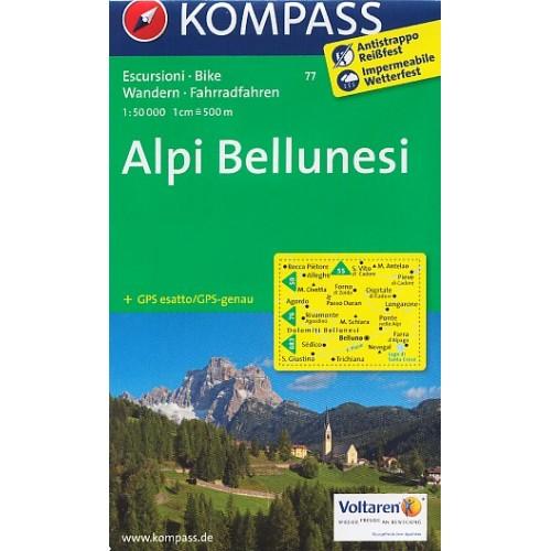 77 ALPI BELLUNESI