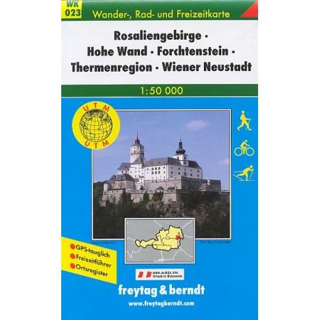 WK 023 ROSALIENGEBIRGE, HOHE WAND, FORCHTENSTEIN