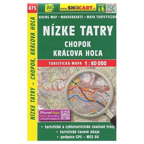 475 NÍZKE TATRY-CHOPOK, KRÁĽOVA HOĽA