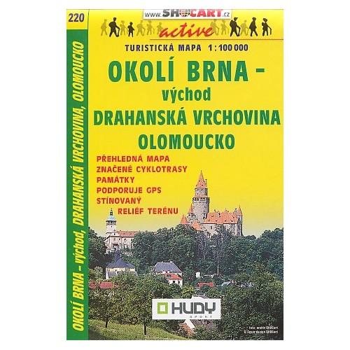 220 OKOLÍ BRNA-VÝCHOD, DRAHANSKÁ VRCHOVINA