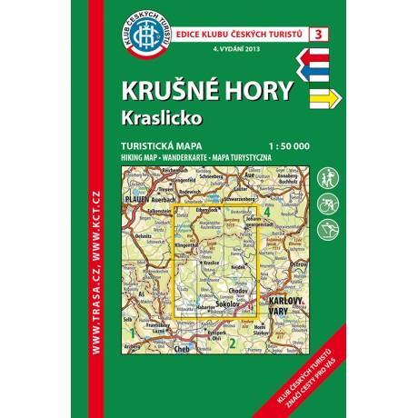Turisticka Mapa Krusne Hory Kraslicko