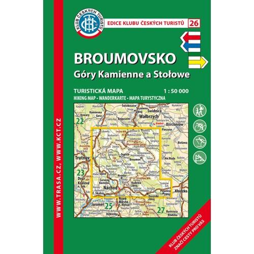 26 BROUMOVSKO, GÓRY KAMIENNE A STOLOWE