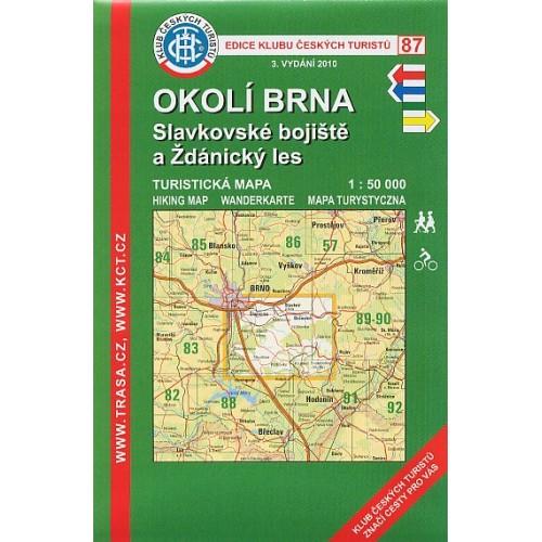 87 OKOLÍ BRNA-SLAVKOVSKÉ BOJIŠTĚ, ŽDÁNICKÝ LES