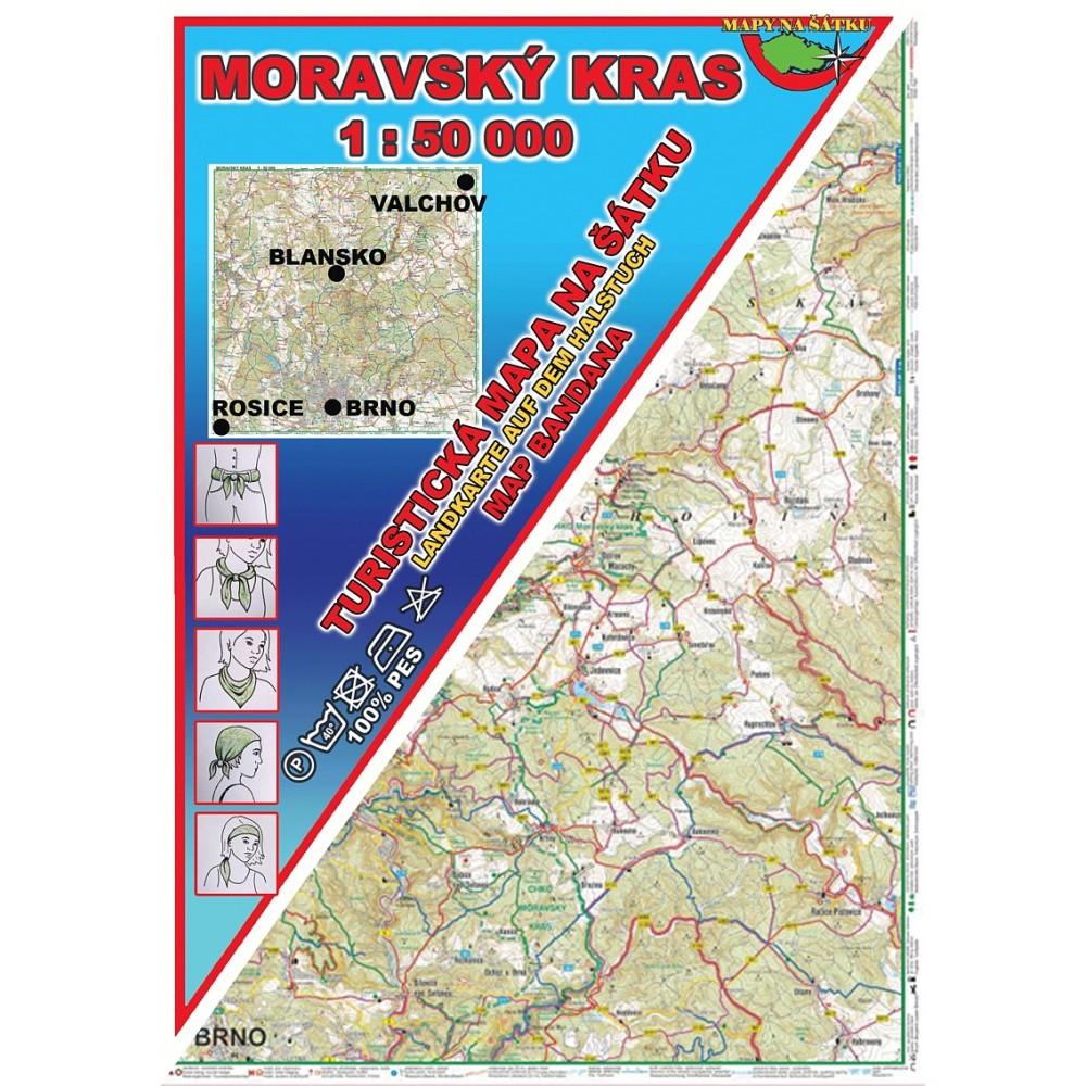 Turisticka Mapa Na Satku Moravsky Kras