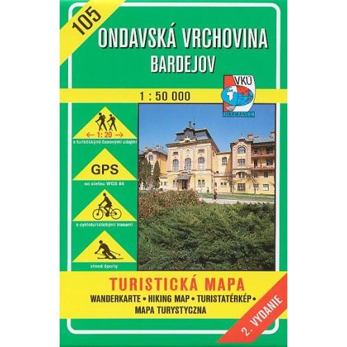 105 ONDAVSKÁ VRCHOVINA-BARDEJOV