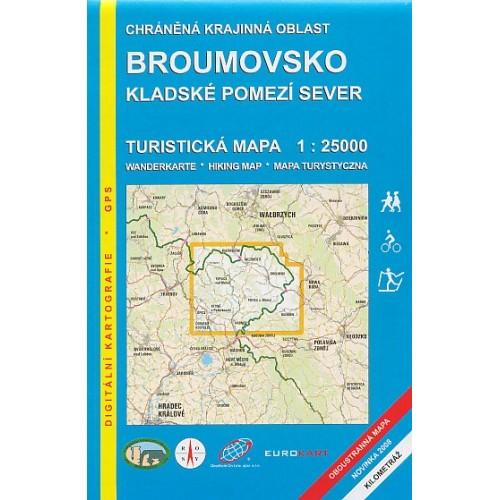 BROUMOVSKO, KLADSKÉ POMEZÍ-SEVER
