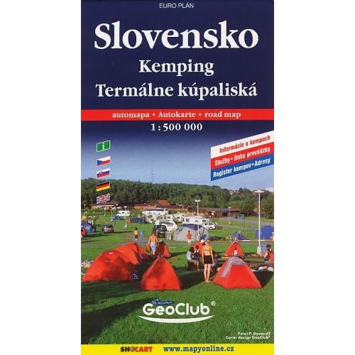 SLOVENSKO-KEMPING, TERMÁLNÍ KOUPALIŠTĚ