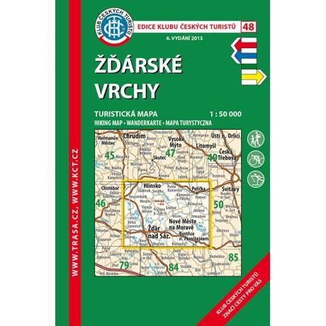 Turisticka Mapa Zdarske Vrchy