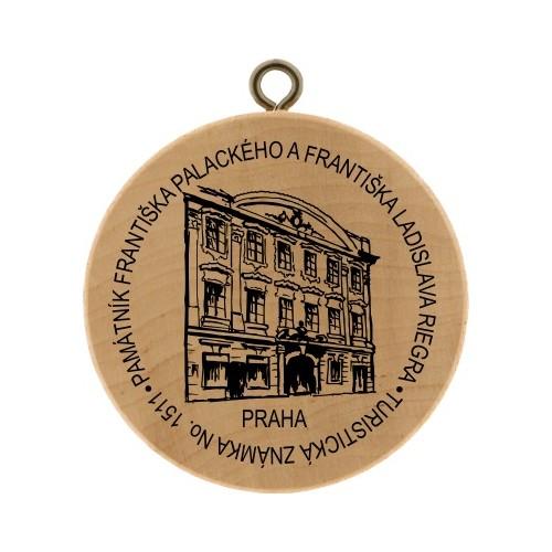 TZ No. 1511 PAMÁTNÍK FRANTIŠKA PALACKÉHO A FRANTIŠKA LADISLAVA RIEGRA