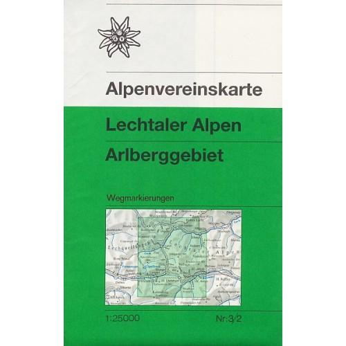 3/2 LECHTALER ALPEN-ARLBERG