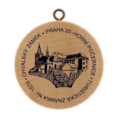 TZ No. 1570 CHVALSKÝ ZÁMEK - PRAHA 20 - HORNÍ POČERNICE