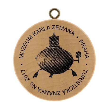 TZ No. 2017 MUZEUM KARLA ZEMANA - PRAHA