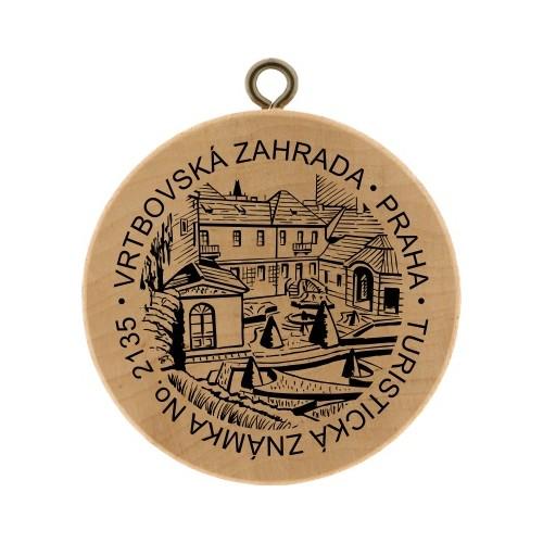 TZ No. 2135 VRTBOVSKÁ ZAHRADA, PRAHA