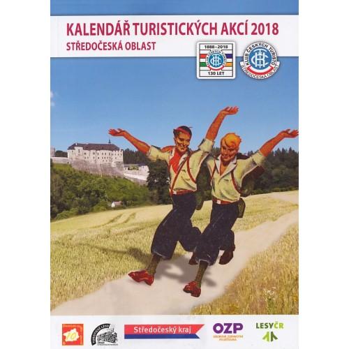 KALENDÁŘ TURISTICKÝCH AKCÍ 2018 - STŘEDOČESKÁ OBLAST