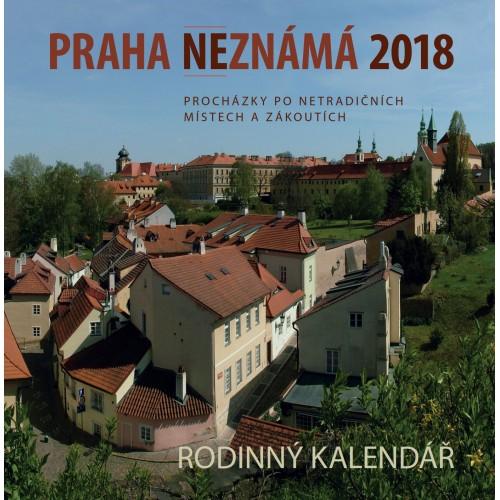 PRAHA NEZNÁMÁ 2018 - KALENDÁŘ