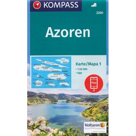 2260 AZORY - AZORSKÉ OSTROVY