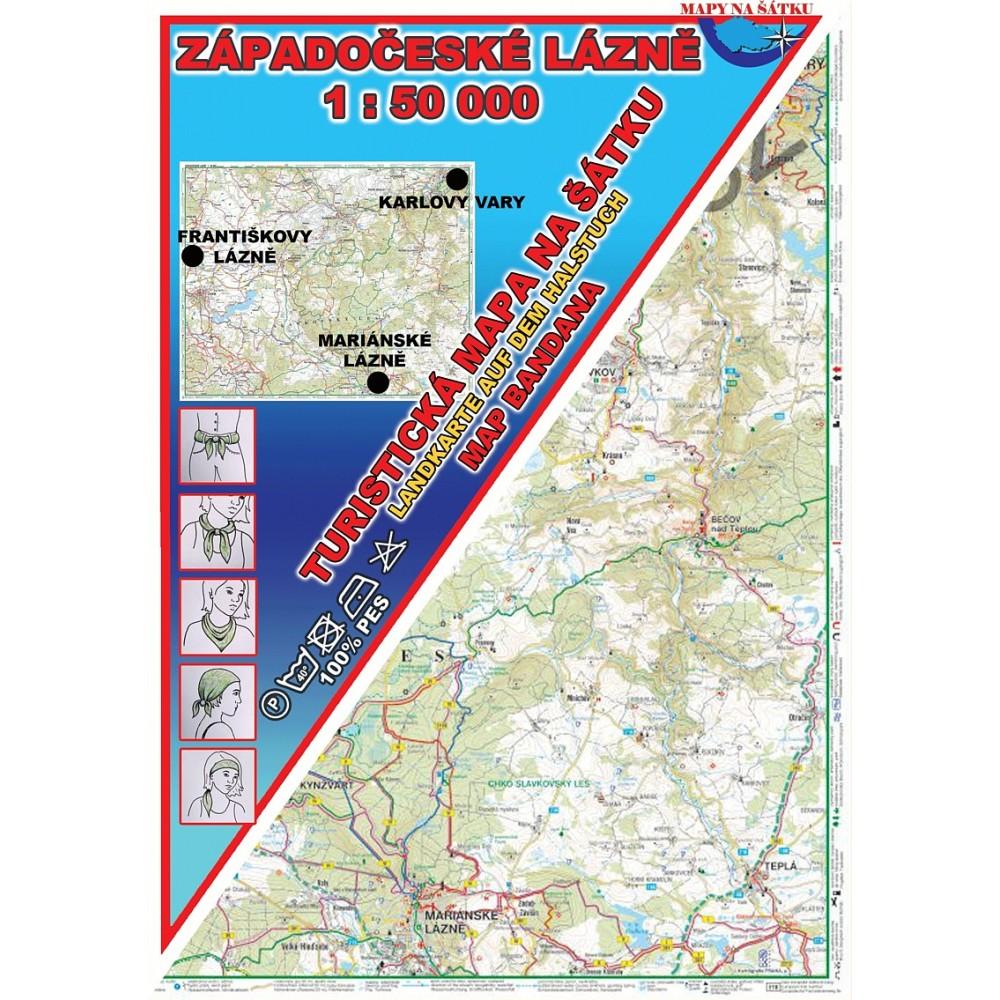 Turisticka Mapa Na Satku Zapadoceske Lazne