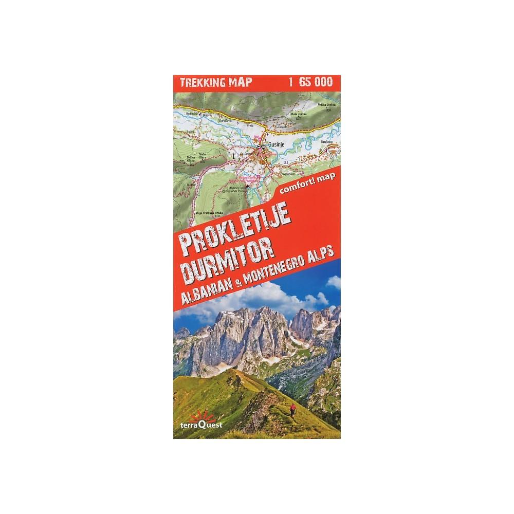 Turisticka Mapa Prokletije Durmitor
