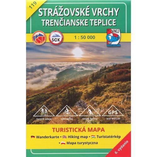 119 STRÁŽOVSKÉ VRCHY - TRENČIANSKE TEPLICE